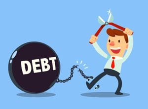 Don't use your 401k to pay off credit cards or loans!